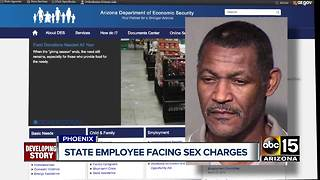 Former state employee facing sexual misconduct charges - Video