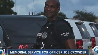 Memorial service for Office Joe Crowder - Video