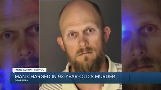 Man charged in alleged murder of 93-year-old Dearborn woman