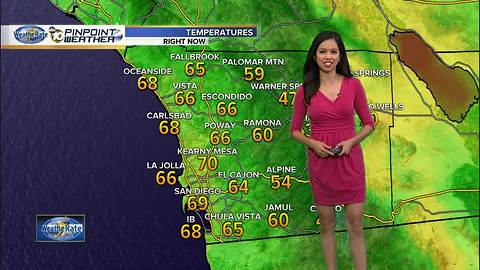 10News Pinpoint Weather with Melissa Mecija