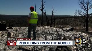 Group helping residents rebuild after the Tinder Fire - Video