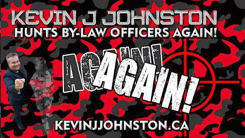 Kevin J Johnston Goes To Mississauga City Hall To Confront ByLaw Officers