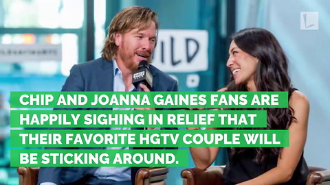 Hang Onto Your Shiplap: Chip and Joanna Gaines Are Getting a New Show!