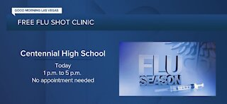 Centennial High School offers free flu shot clinic