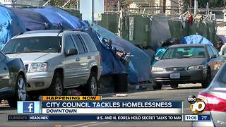 City Council tackles homelessness - Video