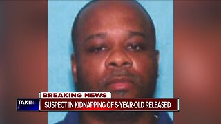 Kidnapping suspect to be released