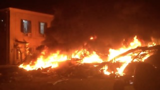 Explosion, Fire in Jaffa Levels Building, Leaves At Least 15 Injured - Video