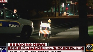 Person shot at Phoenix home, shooter not in custody