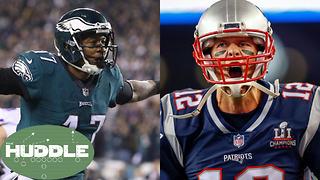 Do the Eagles Stand a Chance Against the Patriots at Super Bowl 52? -The Huddle - Video