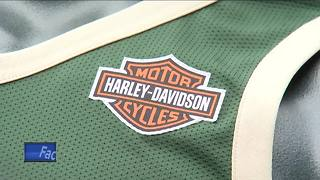 Harley-Davidson logo to grace  Bucks uniforms - Video