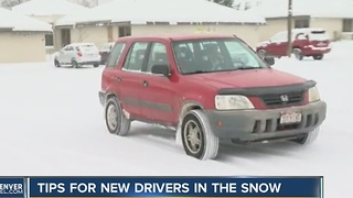 Driving instructors provide winter weather driving tips