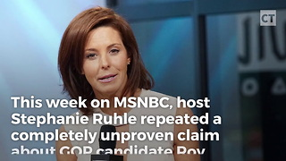 MSNBC Pushes Roy Moore Mall Story - Video