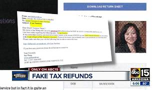 New scam targeting your identity through fake tax refunds - Video