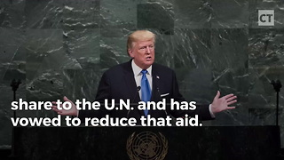 Trump Cuts Funding For U.N. And Palestinians