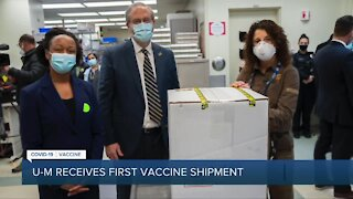 Michigan Medicine receives first shipment of Pfizer vaccine