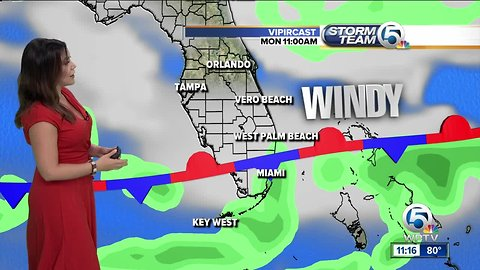 South Florida Monday afternoon forecast (10/22/18)