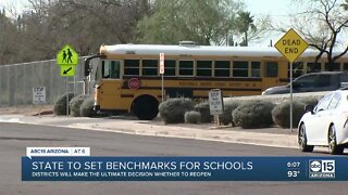 State to set benchmarks for schools