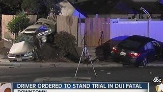 Driver ordered to stand trial in fatal DUI - Video