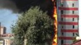 Hundreds Evacuated as Fire Tears Through Hotel in Russia's Rostov-on-Don - Video