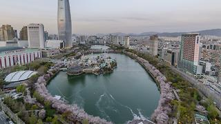 Gorgeous Views of Seokchonhosu Lake, South Korea - Video