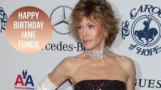 Jane Fonda is 80 and still an icon - Video
