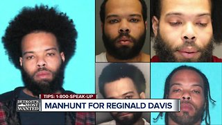 Detroit's Most Wanted: Reginald Davis wanted for allegedly shooting at his own child, family