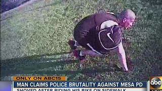 Mesa man claims police brutality, files lawsuit against city - Video