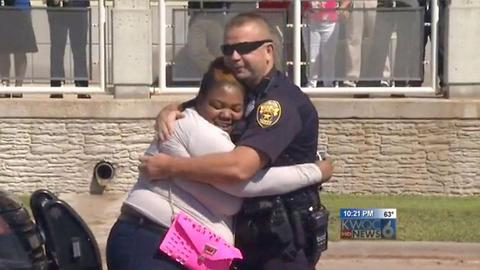 Cop Gives Car To Single Mom