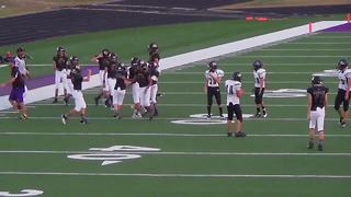 Opposing player lets Wisconsin boy with Down syndrome make his first tackle in football game - Video