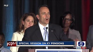 Kentucky holds special session to untangle pension snarl