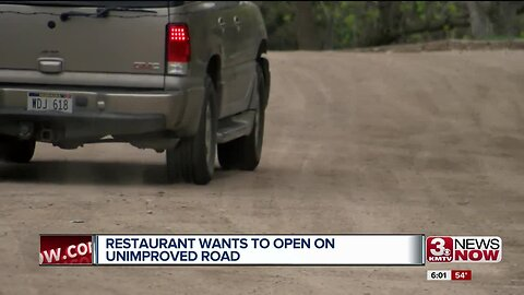 Restaurant Wants to Open on Unimproved Road