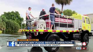 Over 100 people and pets rescued from Island Park neighborhood - Video