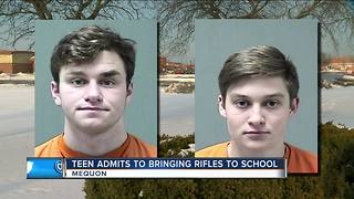 Mequon Police: Teens brought guns and drugs to Homestead High School - Video