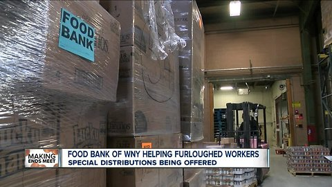 Food Bank of WNY helping furloughed workers