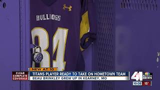 Titans player from Kearney returns for playoffs - Video