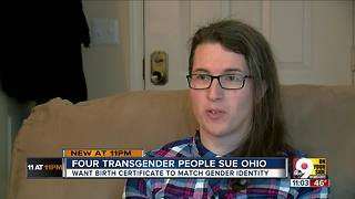 Transgender people sue Ohio for right to change birth certificates - Video