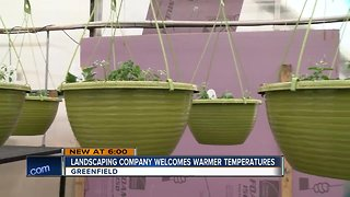 Local landscaping company welcome warmer weather