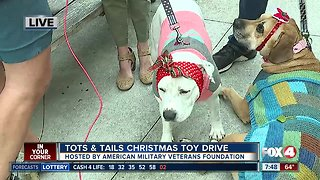 Tots & Tails Christmas Toy Drive