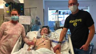 Painesville teen athlete receives community support following rare brain infection diagnosis