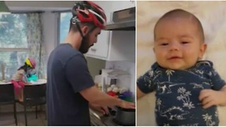 This Family Always Wears Helmets Around the House. Here's Why Their Pictures Immediately Went Viral. - Video