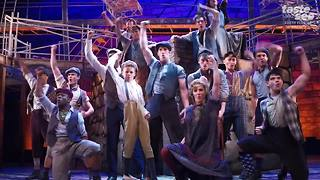 Disney Newsies The Musical now playing
