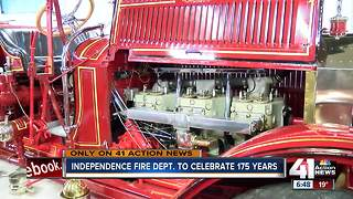 Independence Fire Dept. celebrates 175 years - Video