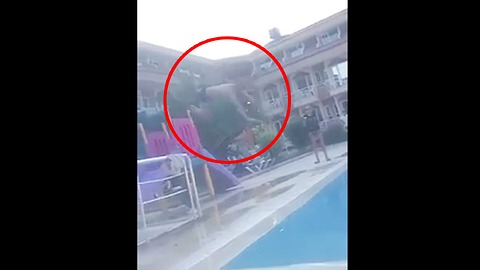 Failed Pool Jump