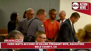 Colorado man accused of killing wife, daughters appears in court