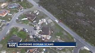Avoiding natural disaster related scams