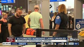 New technology making airport security more efficient - Video