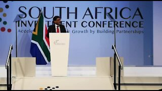 SOUTH AFRICA - Johannesburg - South Africa Investment Conference - (Video) (SZU)
