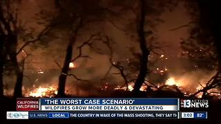 California wildfires create disaster for residents - Video