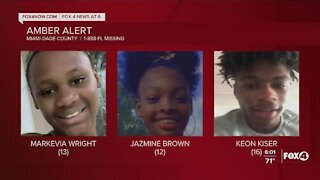 Amber alert issued for Miami-Dade teens