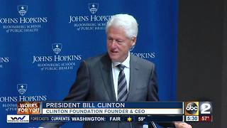 Bill Clinton heads opioid summit in Baltimore - Video